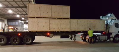 Airfreight crates